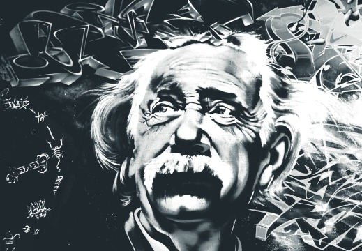 Einstein Murales