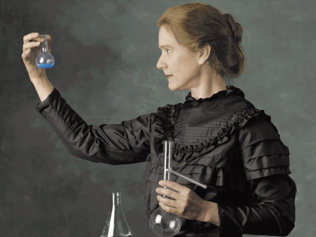 La meravigliosa storia di Marie Curie e dei suoi appunti radioattivi. Una storia trasformativa.